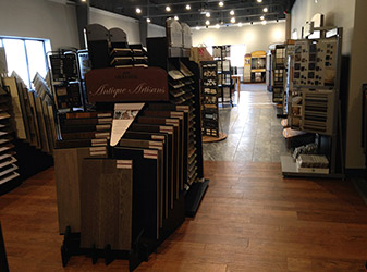 Visit our showroom in Covington today and learn how our experts can help you on your next commercial flooring project!